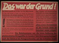 1995.96.110 front Nazi propaganda poster  Click to enlarge