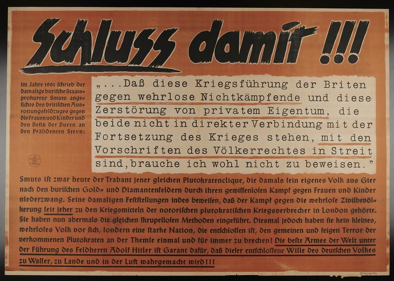 1995.96.12 front Nazi propaganda poster