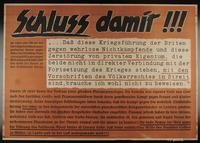 1995.96.12 front Nazi propaganda poster  Click to enlarge