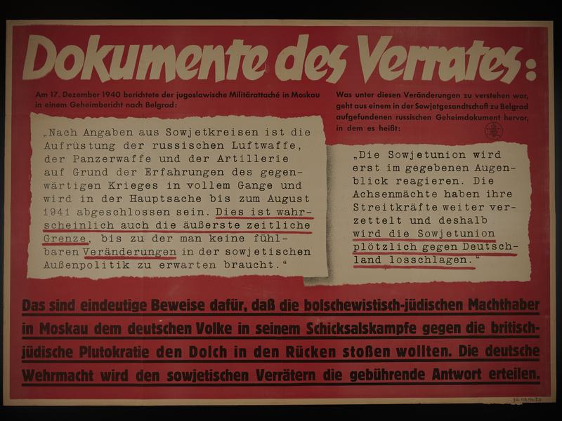 1995.96.121 front Nazi propaganda poster