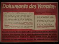 1995.96.121 front Nazi propaganda poster  Click to enlarge