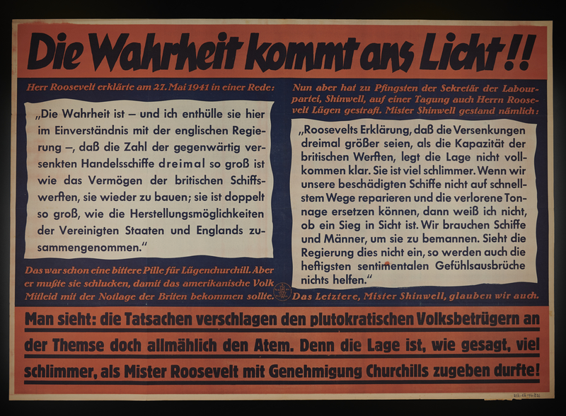 1995.96.123 front Nazi propaganda poster