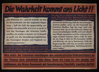 1995.96.123 front Nazi propaganda poster  Click to enlarge