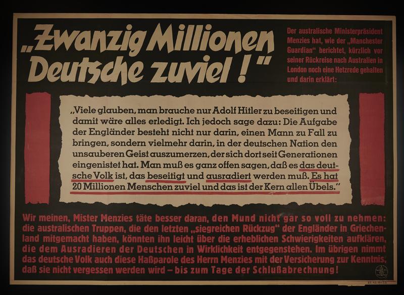 1995.96.125 front Nazi propaganda poster