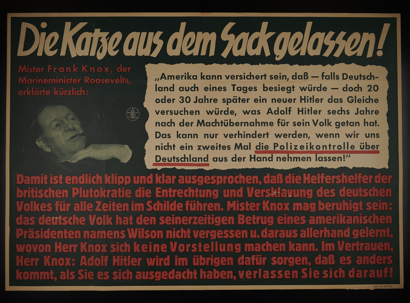 1995.96.126 front Nazi propaganda poster