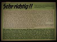 1995.96.130 front Nazi propaganda poster  Click to enlarge