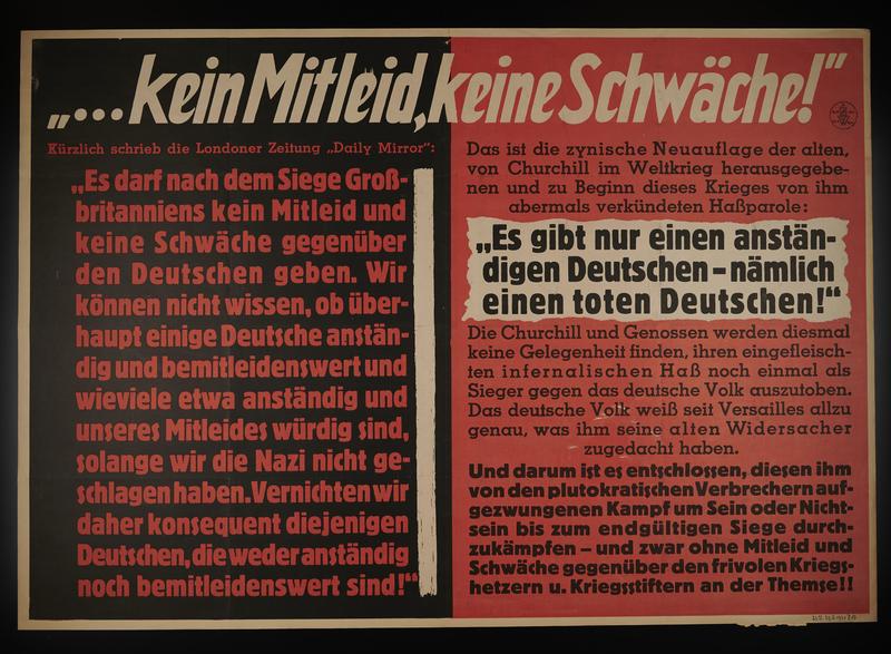 1995.96.131 front Nazi propaganda poster