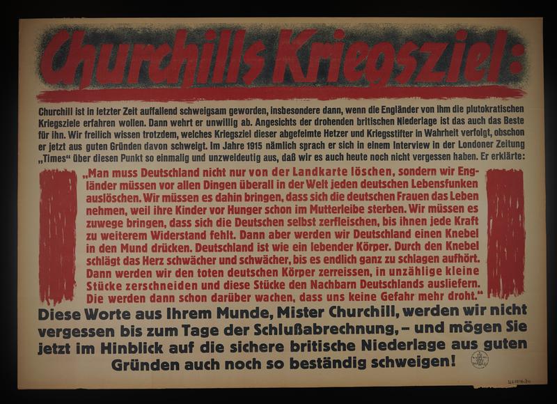 1995.96.135 front Nazi propaganda poster