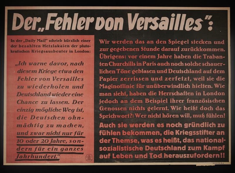 1995.96.136 front Nazi propaganda poster