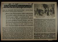 1995.96.138 front Nazi propaganda poster  Click to enlarge