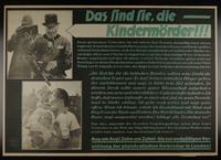 1995.96.14 front Nazi propaganda poster  Click to enlarge