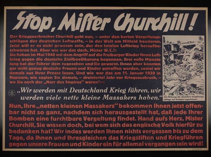 1995.96.142 front Nazi propaganda poster
