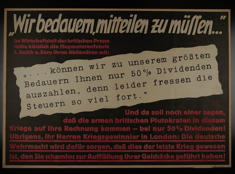 1995.96.143 front Nazi propaganda poster