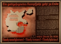 1995.96.148 front Nazi propaganda poster  Click to enlarge