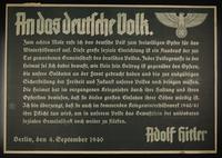 1995.96.15 front Nazi propaganda poster  Click to enlarge