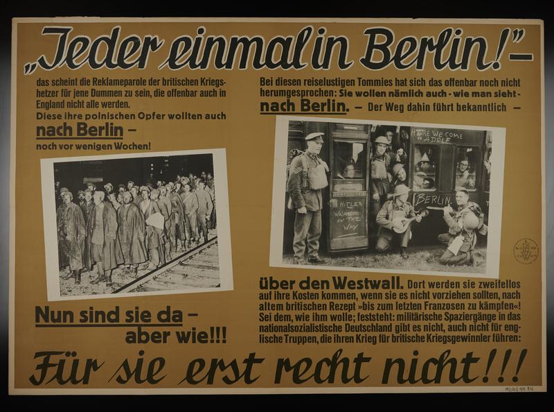 1995.96.150 front Nazi propaganda poster