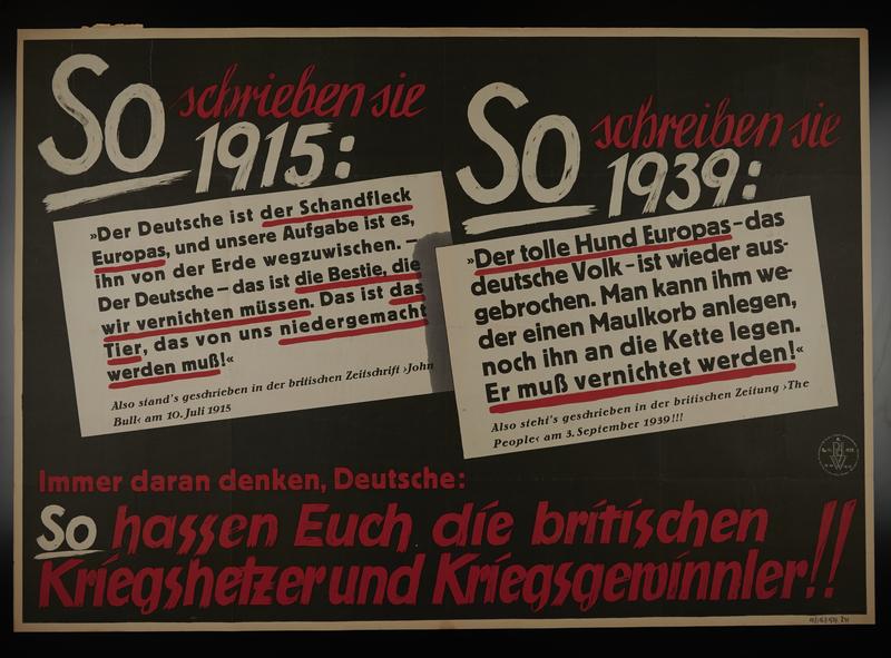 1995.96.151 front Nazi propaganda poster