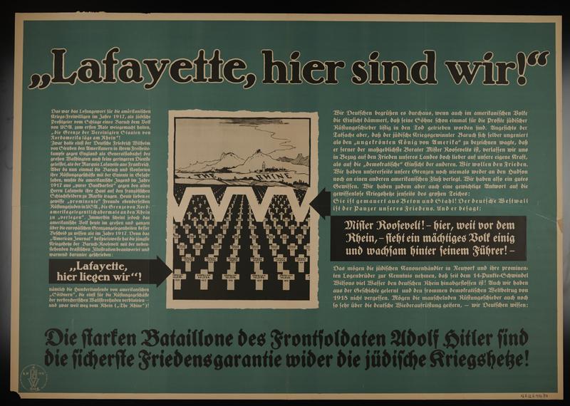 1995.96.155 front Nazi propaganda poster