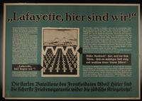 1995.96.155 front Nazi propaganda poster  Click to enlarge