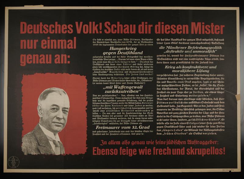 1995.96.156 front Nazi propaganda poster
