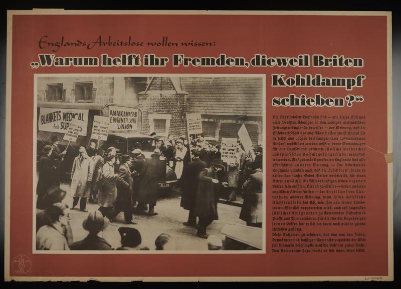 1995.96.158 front Nazi propaganda poster