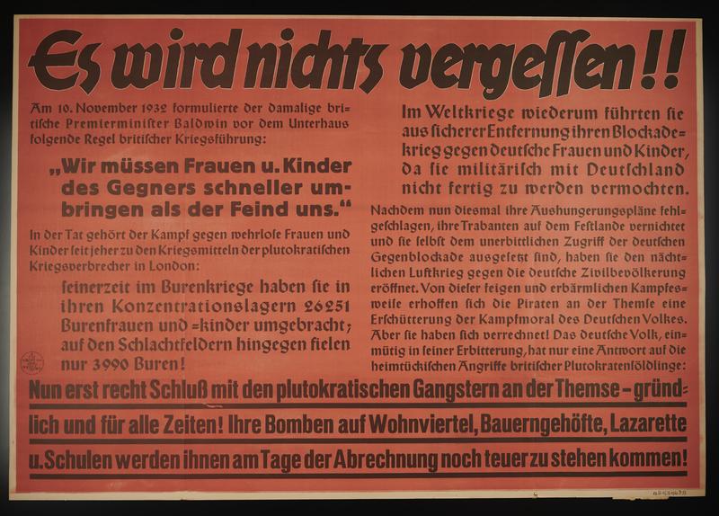 1995.96.16 front Nazi propaganda poster