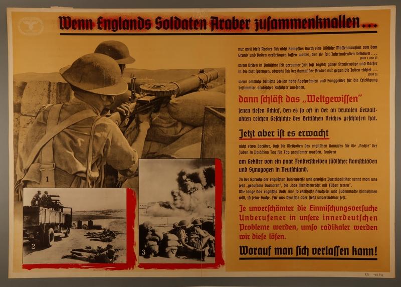 1995.96.160 front Nazi propaganda poster