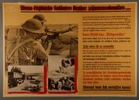 1995.96.160 front Nazi propaganda poster  Click to enlarge