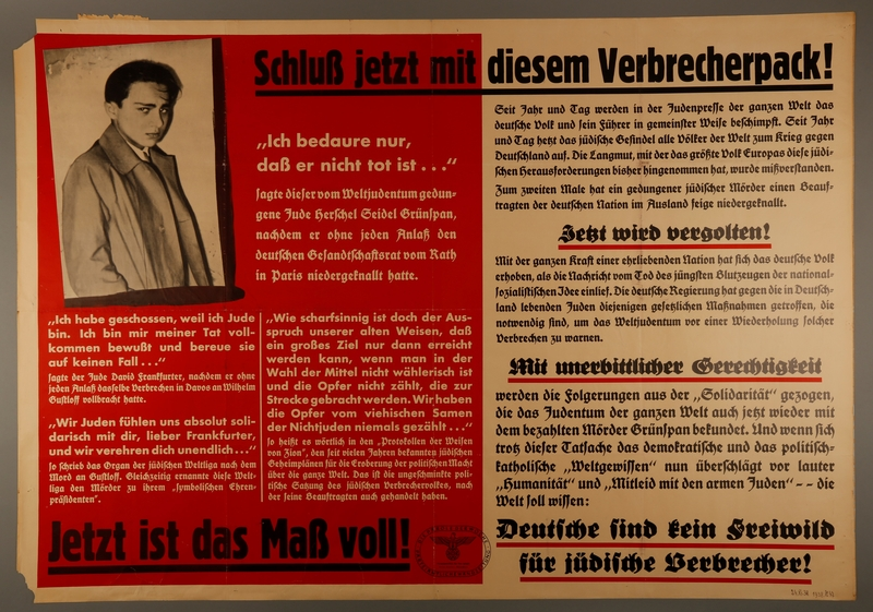 1995.96.161 front Nazi propaganda poster