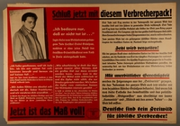 1995.96.161 front Nazi propaganda poster  Click to enlarge
