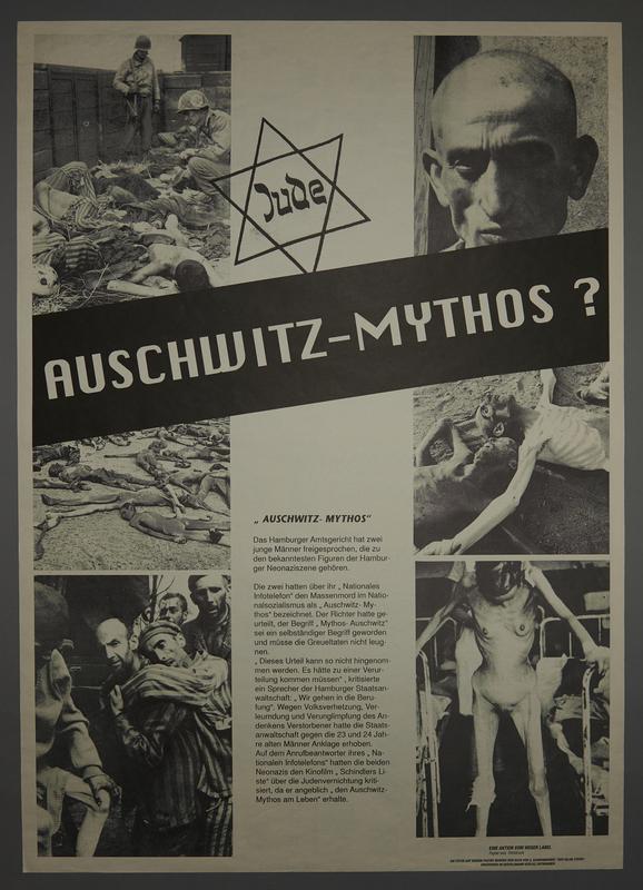 1995.96.162 front Nazi propaganda poster