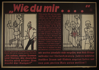 1995.96.18 front Nazi propaganda poster  Click to enlarge