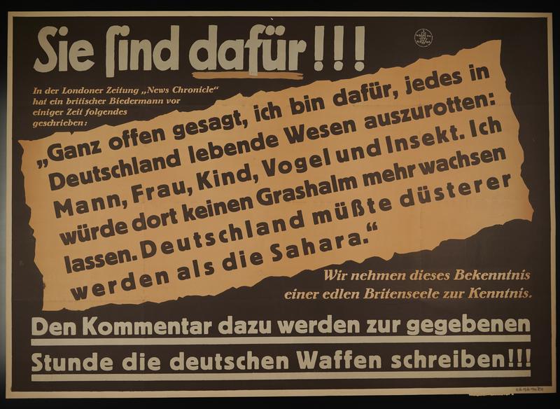 1995.96.20 front Nazi propaganda poster