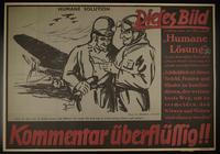 1995.96.21 front Nazi propaganda poster  Click to enlarge