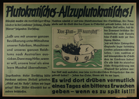 1995.96.22 front Nazi propaganda poster  Click to enlarge