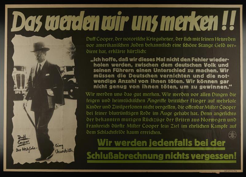 1995.96.24 front Nazi propaganda poster