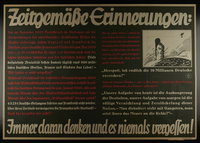 1995.96.26 front Nazi propaganda poster  Click to enlarge