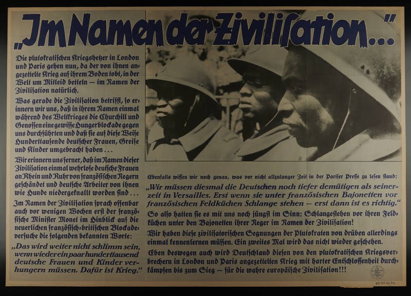 1995.96.28 front Nazi propaganda poster