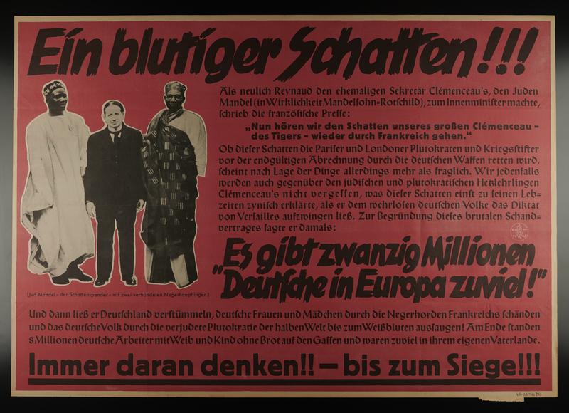 1995.96.29 front Nazi propaganda poster