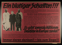 1995.96.29 front Nazi propaganda poster  Click to enlarge