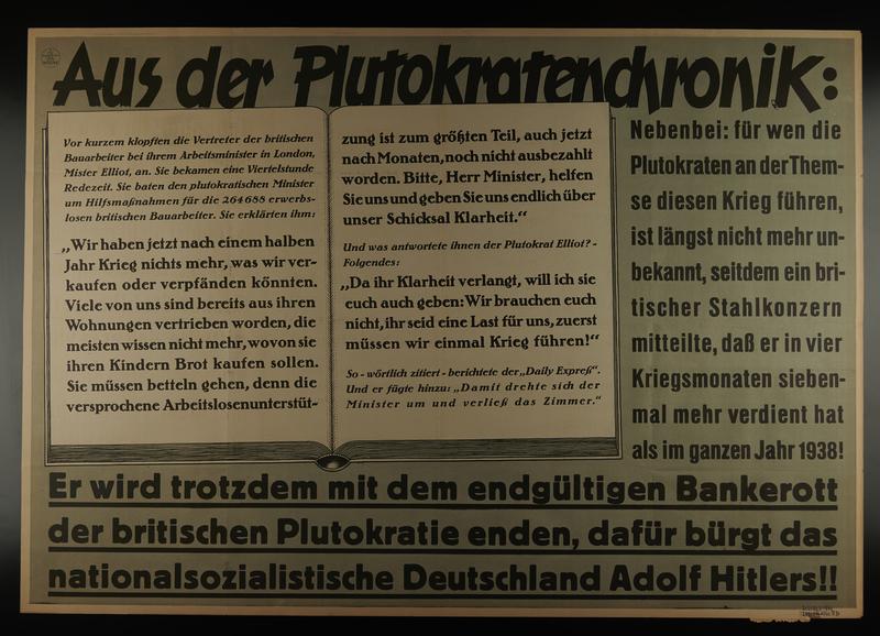 1995.96.31 front Nazi propaganda poster
