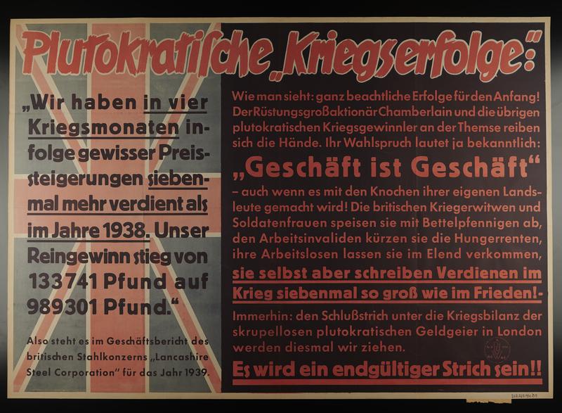 1995.96.35 front Nazi propaganda poster