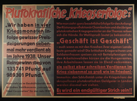 1995.96.35 front Nazi propaganda poster  Click to enlarge