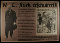 1995.96.36 front Nazi propaganda poster  Click to enlarge