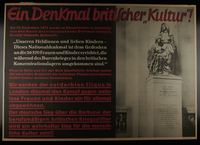 1995.96.38 front Nazi propaganda poster  Click to enlarge