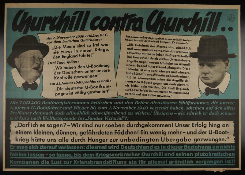 1995.96.5 front Nazi propaganda poster
