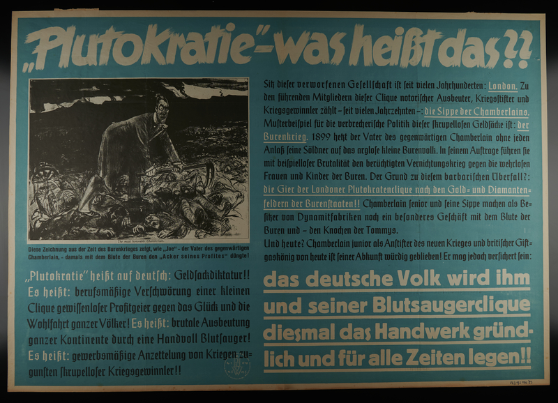 1995.96.42 front Nazi propaganda poster