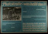 1995.96.42 front Nazi propaganda poster  Click to enlarge
