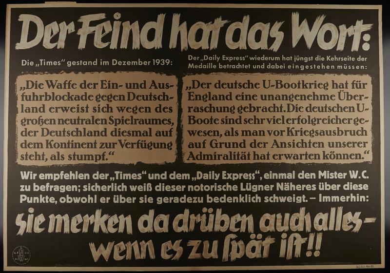 1995.96.43 front Nazi propaganda poster