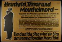 1995.96.44 front Nazi propaganda poster  Click to enlarge